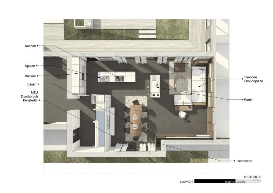Habes architektur umbau wohnen essen kochen Architektur wohnen